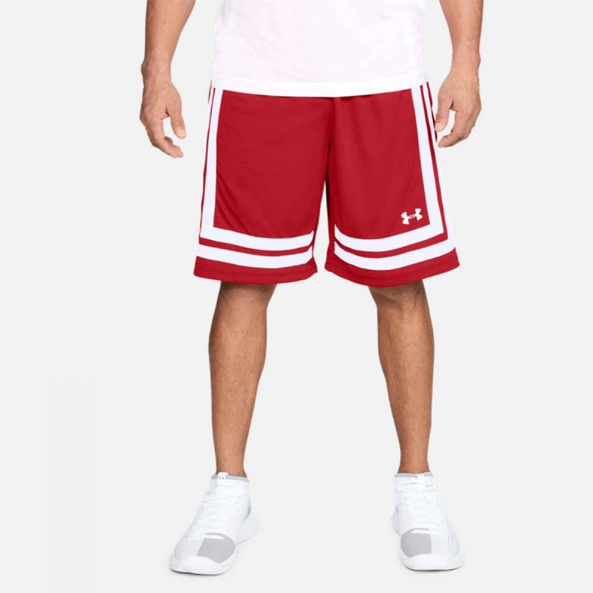 UA Baseline 10in Short 'Red'