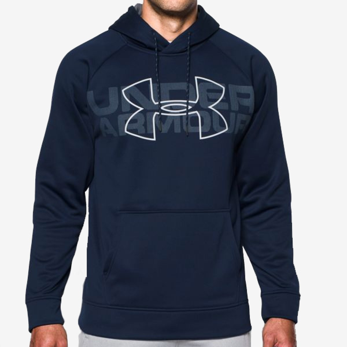 UA Graphic Hoody 'Navy'