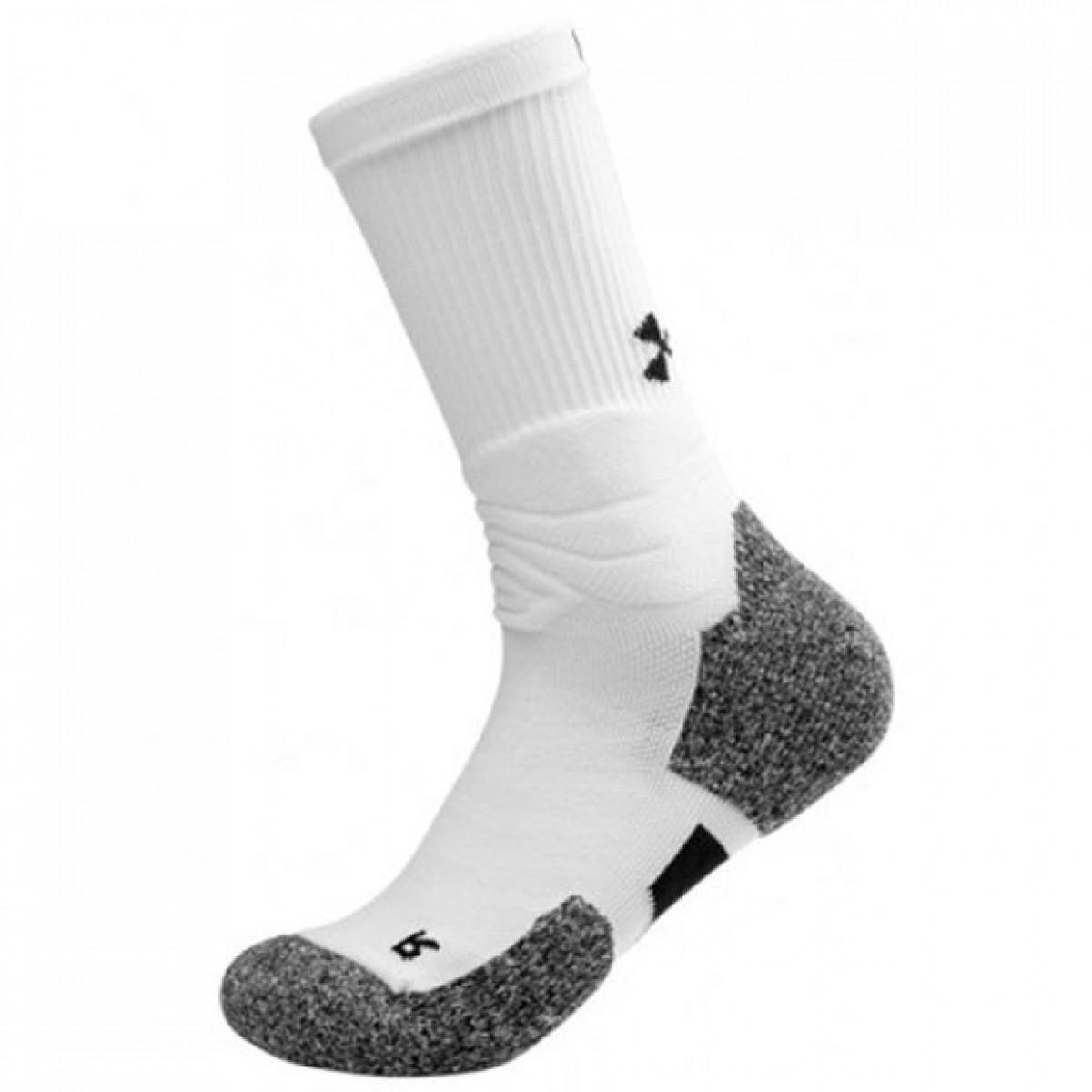 UA Drive Crew Sock 'White'