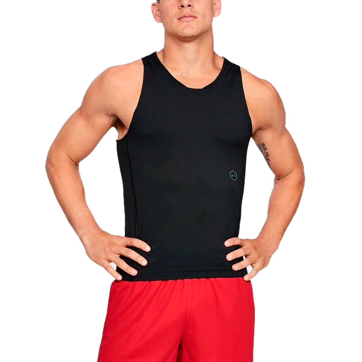 UA Select Rush Tank 'Black'