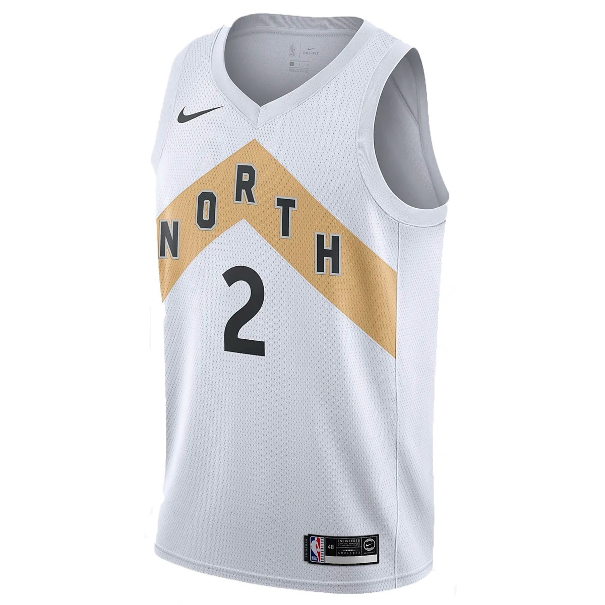 Nike Junior NBA Raptors Swingman Jersey Leonard 'City Edition'