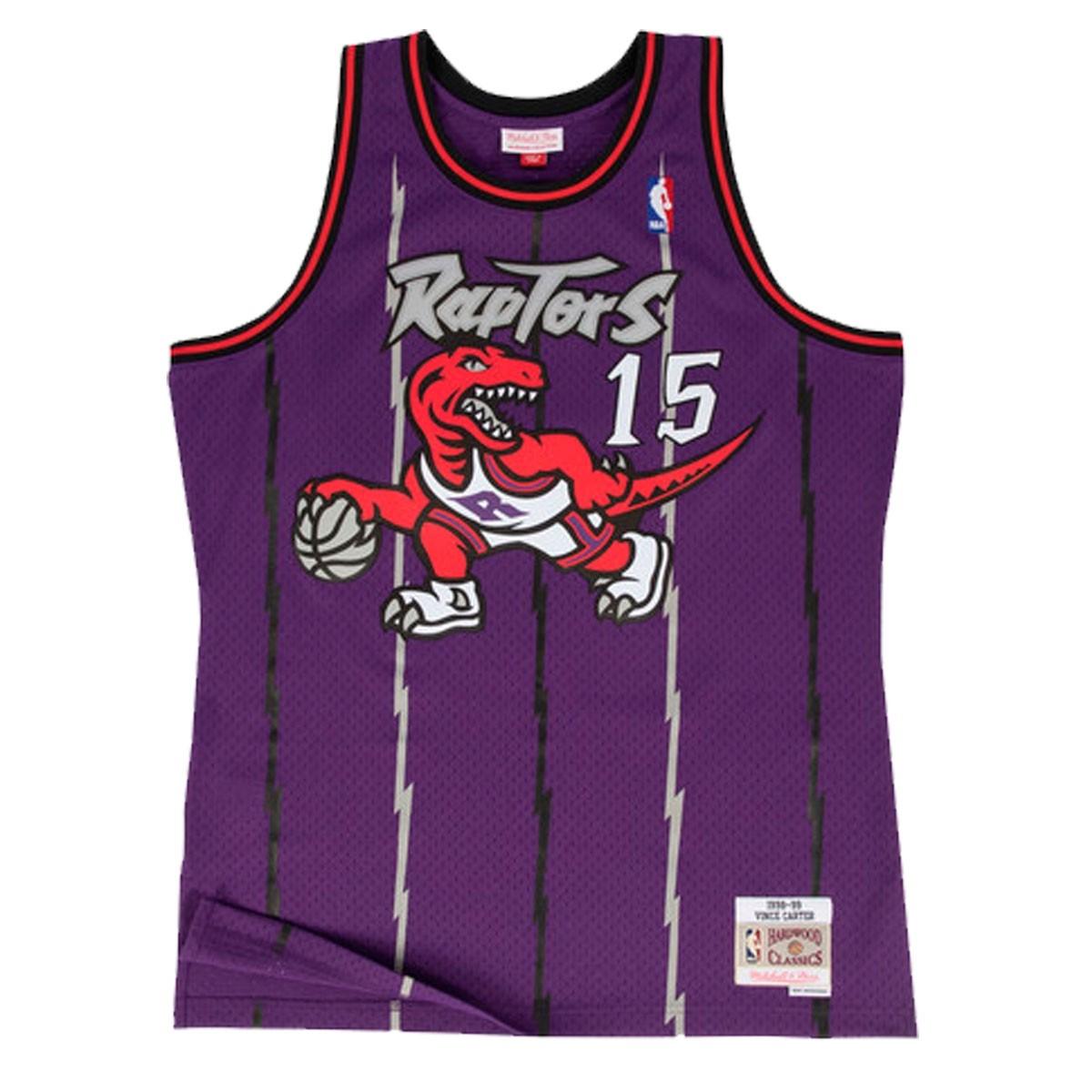 Mitchell & Ness Vince Carter Swingman Jersey Road 'Raptors'