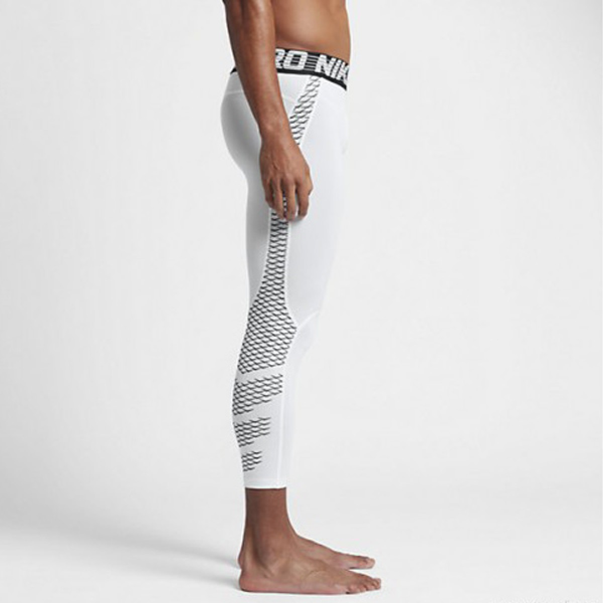 Nike Pro Hypercool 3/4 Tight 'White' 828164-100