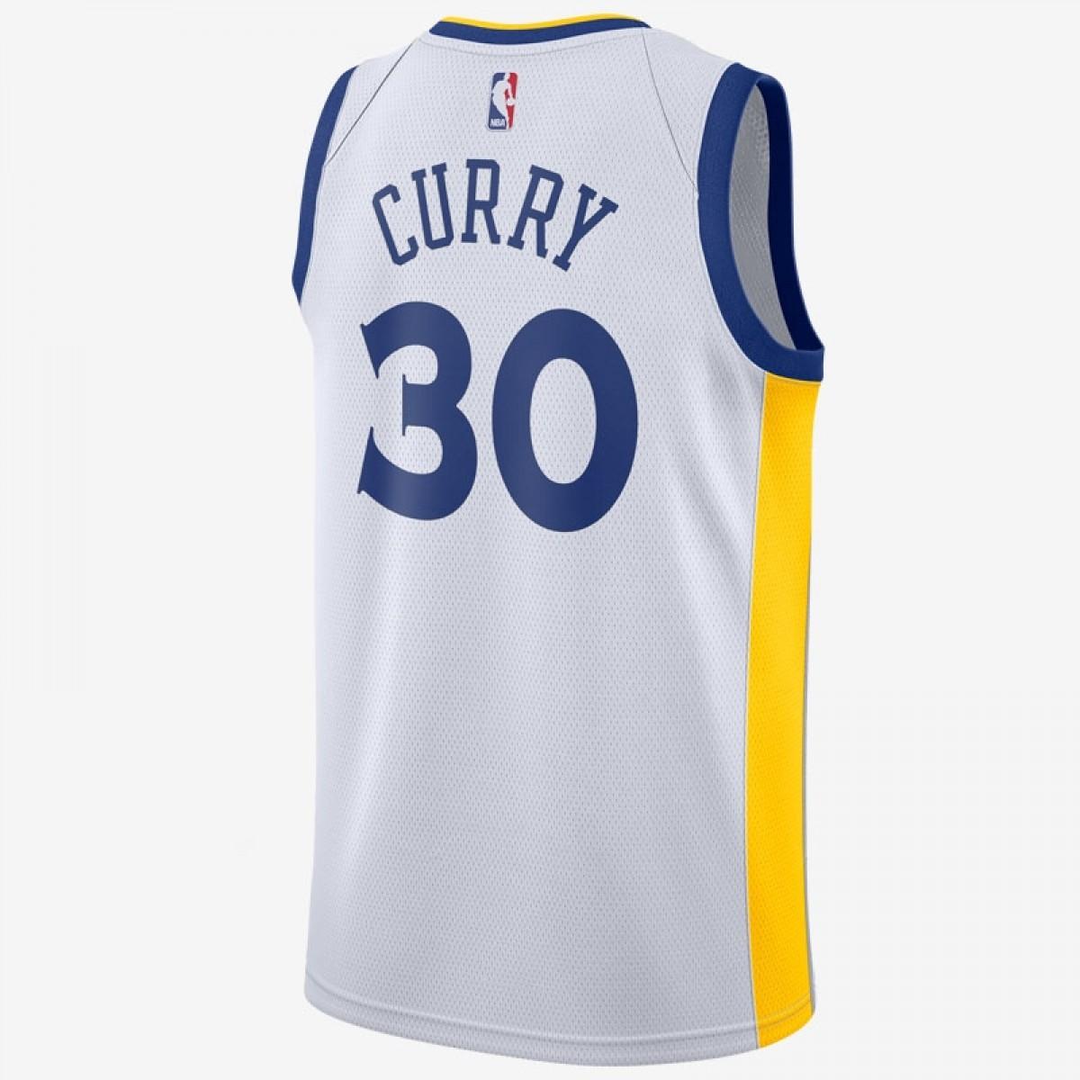 Nike NBA Warriors Swingman Stephen Curry 'Association Edition'