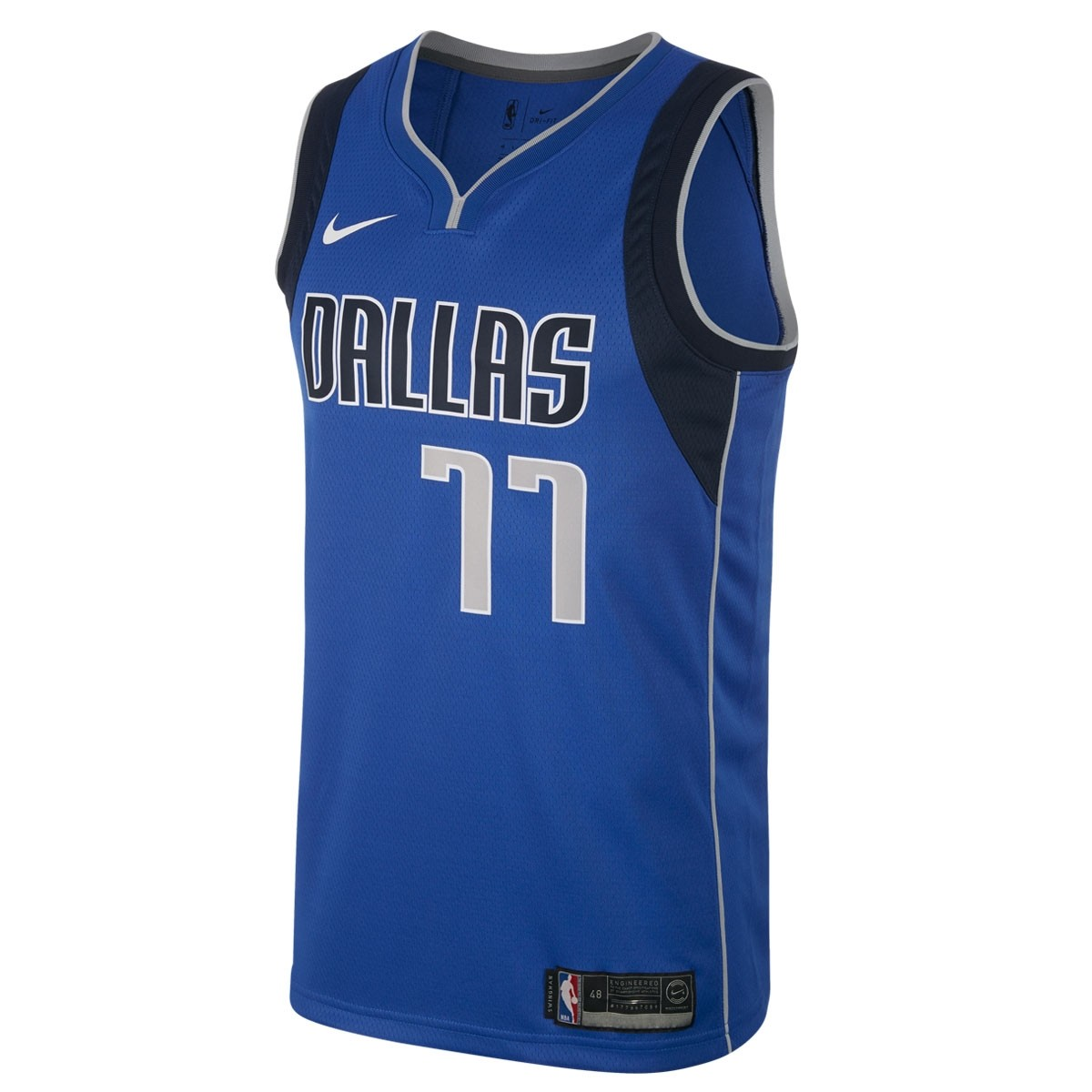 Nike NBA Dallas Swingman Jersey Doncic 'Icon Edition'