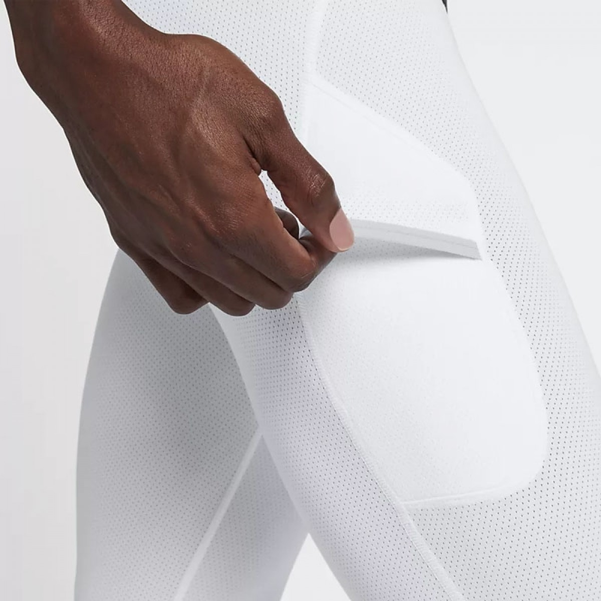 Nike Pro Dri-FIT Tight 3/4 'White' 925821-100