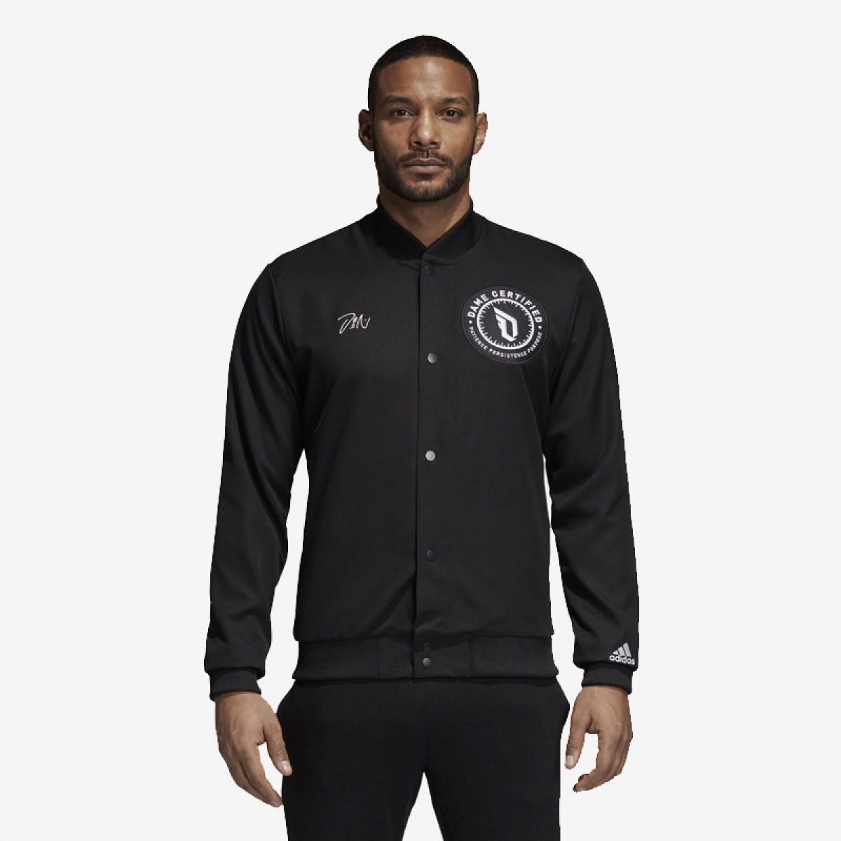 ADIDAS Dame Varsity Jacket 'Black'