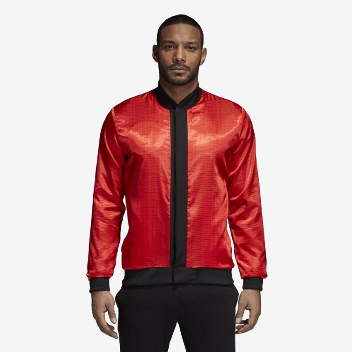 Adidas Dame Varsity Jacket 'Black' CE9132
