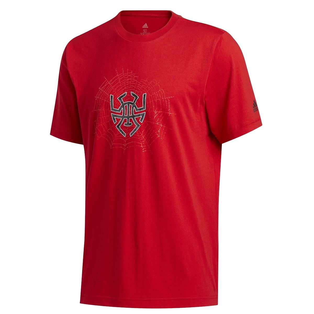 Camiseta ADIDAS Donovan Mitchell Sense Logo 'Red'