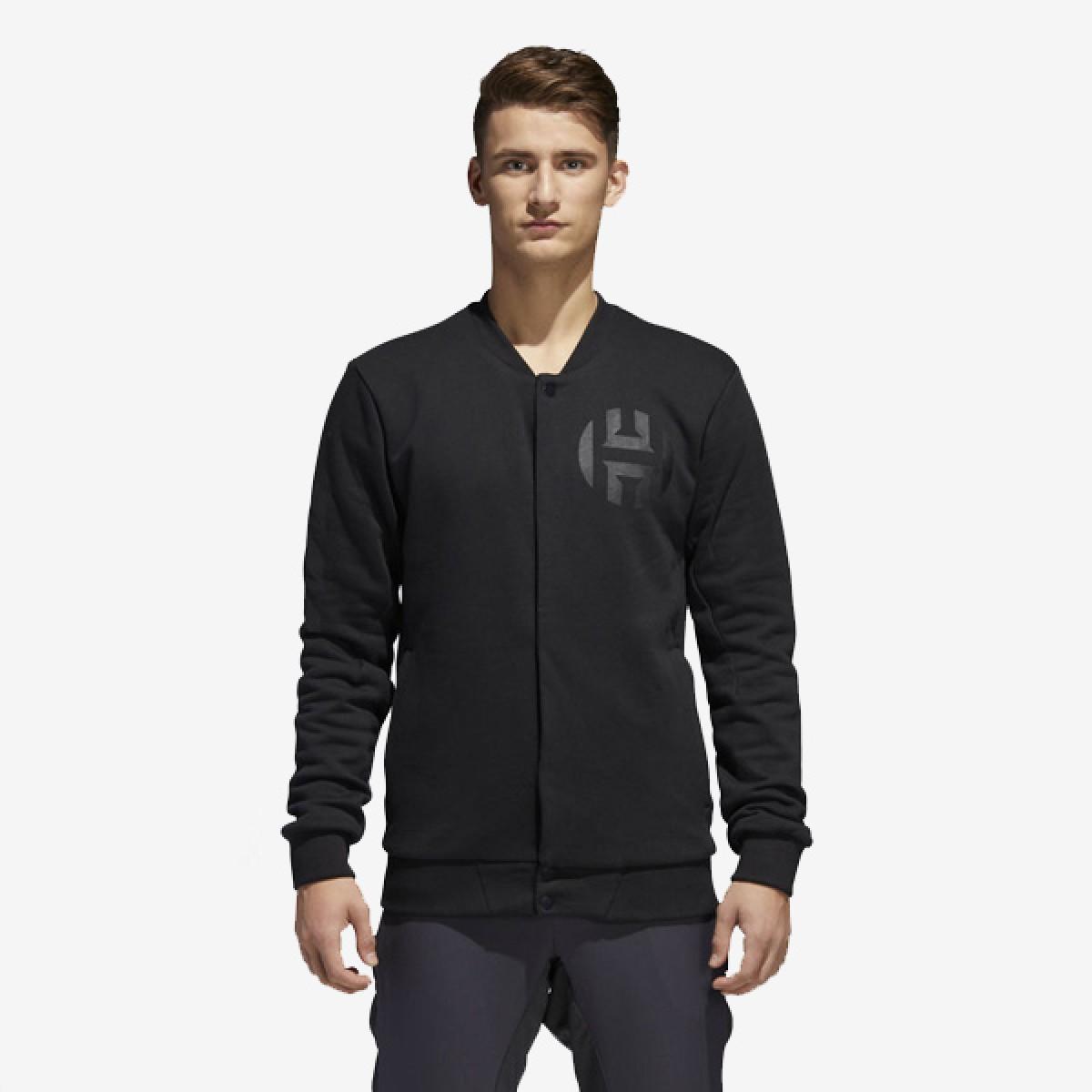 ADIDAS Harden Varsity Jacket 'Black'