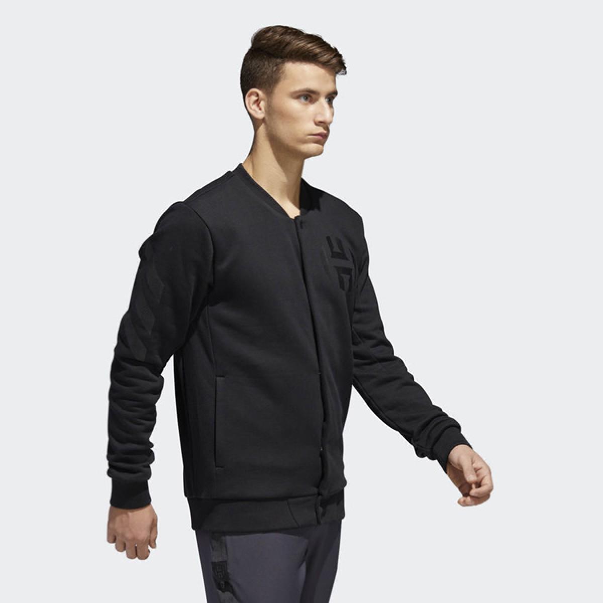 Adidas Harden Varsity Jacket 'Black' CE7323