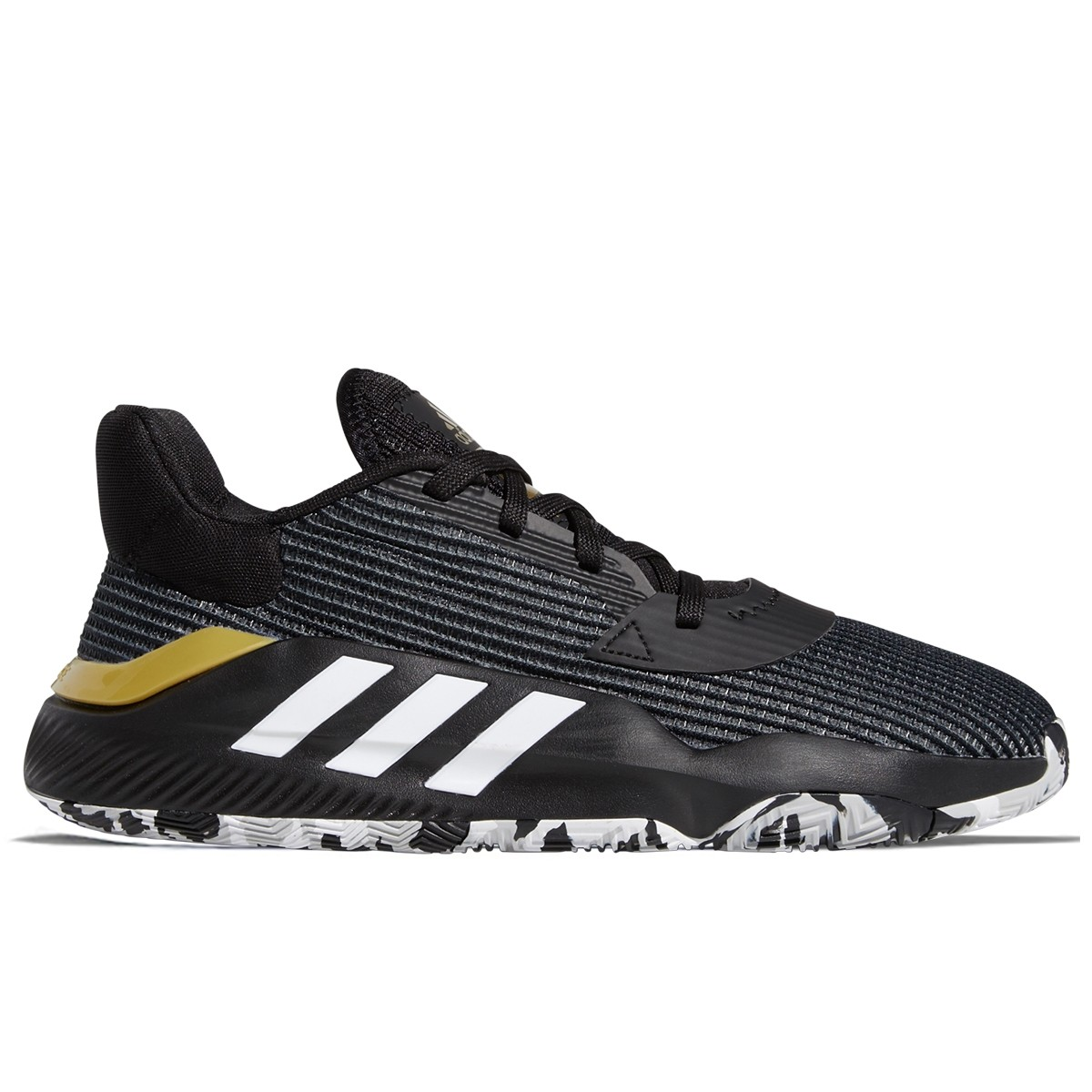 ADIDAS Pro Bounce Low 2019 'Black Gold'