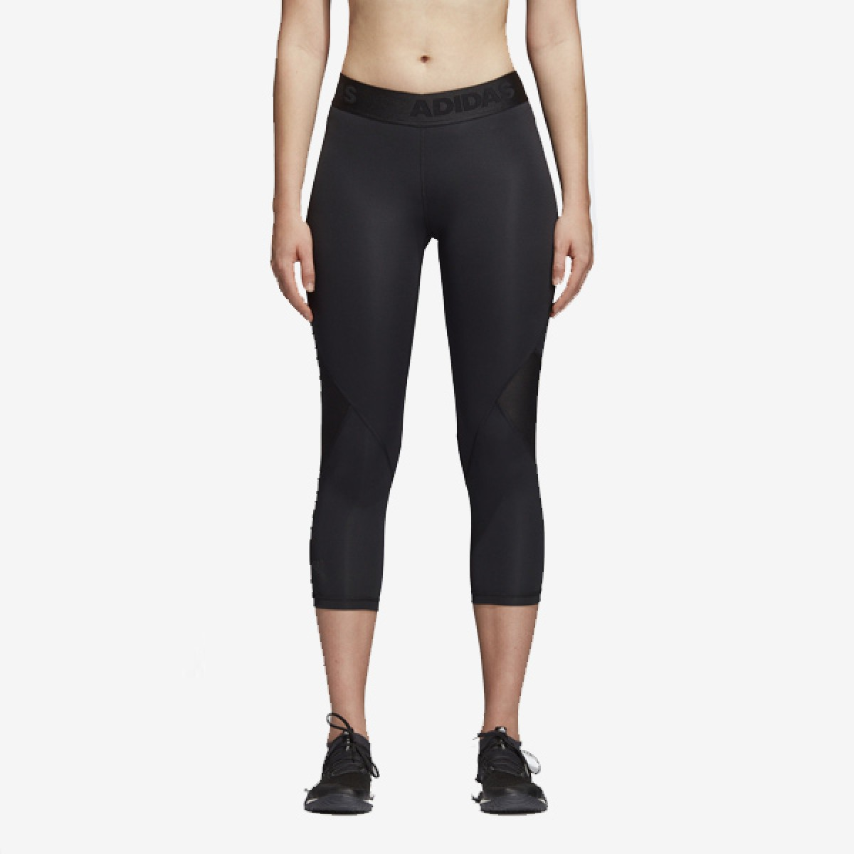 ADIDAS Womans Tight 3/4 'Black'