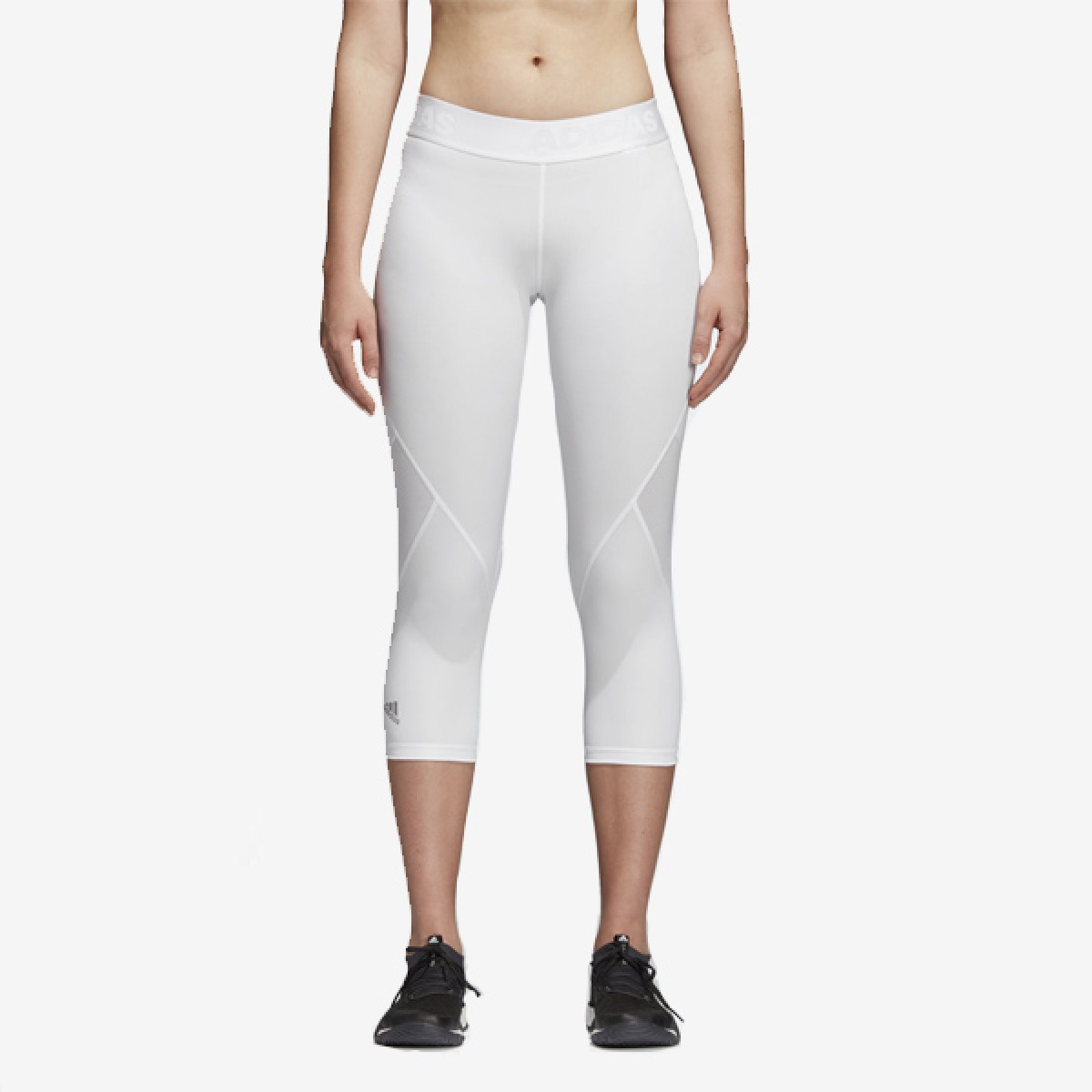 ADIDAS Womans Tight 3/4 'White'