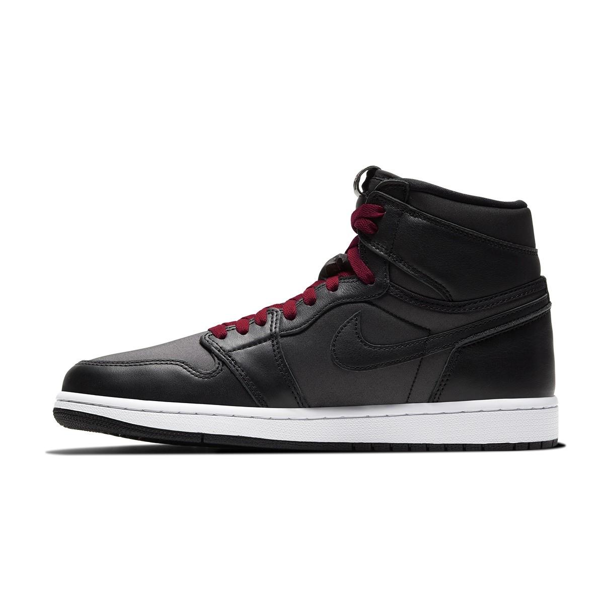 Air Jordan 1 Retro HI OG Jr 'Black/Gym Red'-575441-060