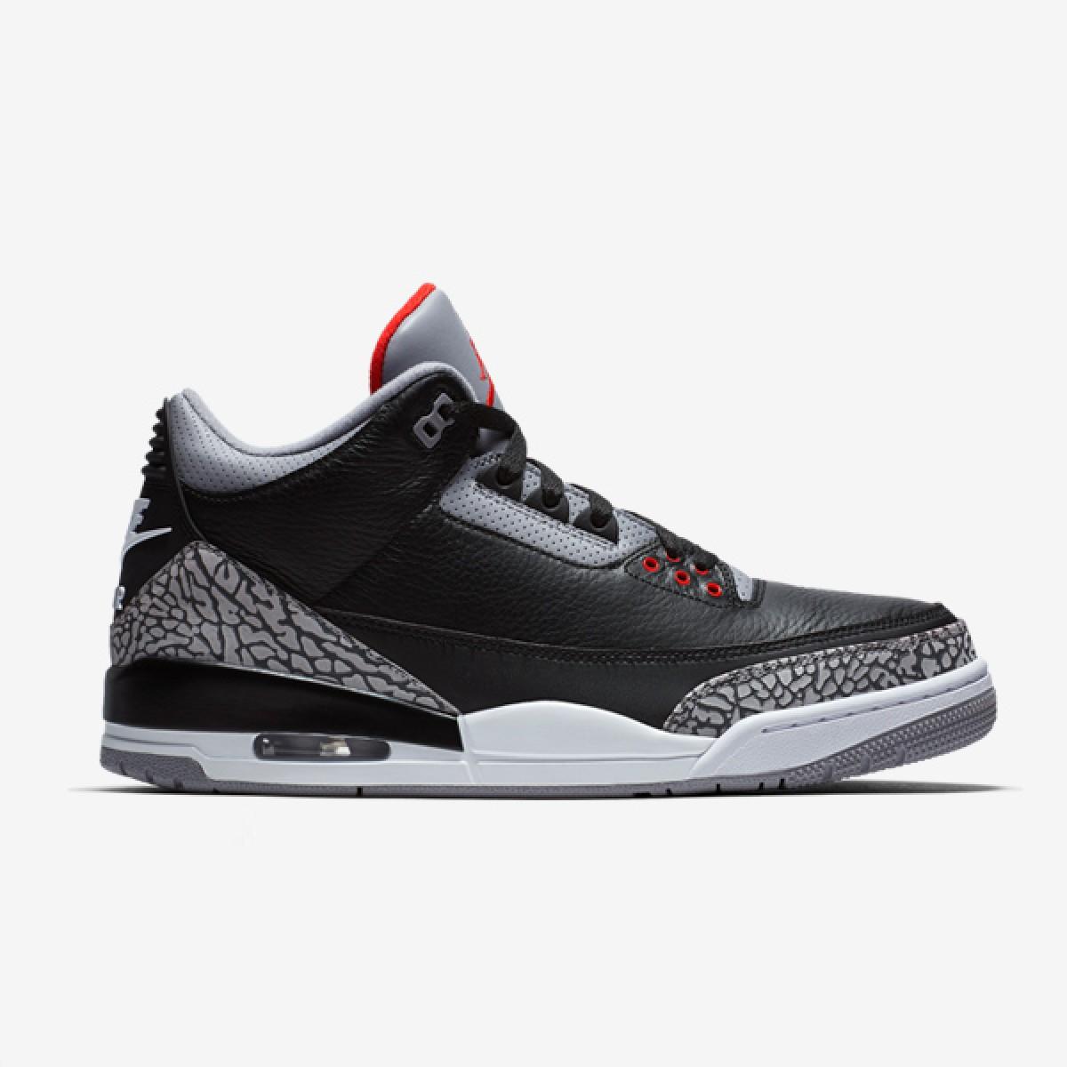 Air Jordan 3 Retro 'Black Cement'