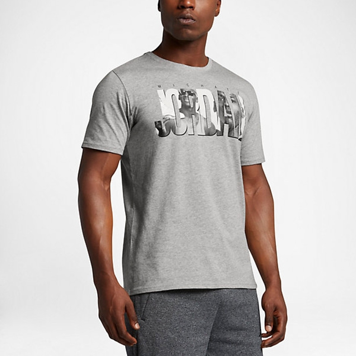 Air Jordan 6 Photo T-Shirt 'Grey'