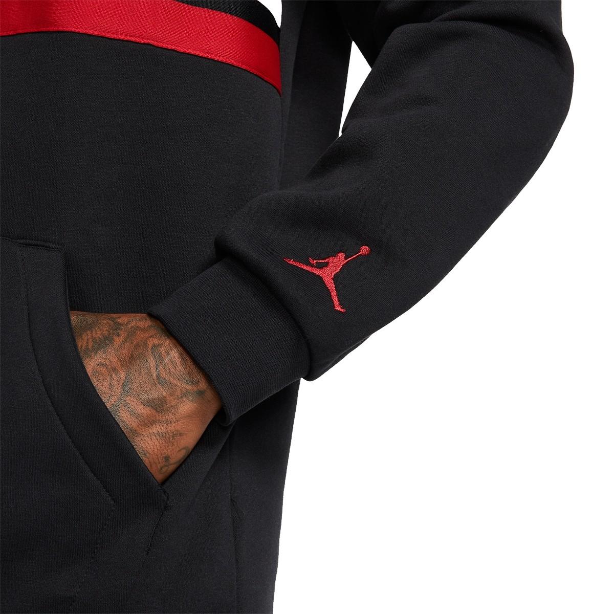 Air Jordan Fleece Pullover 'Bred'-BQ5651-010