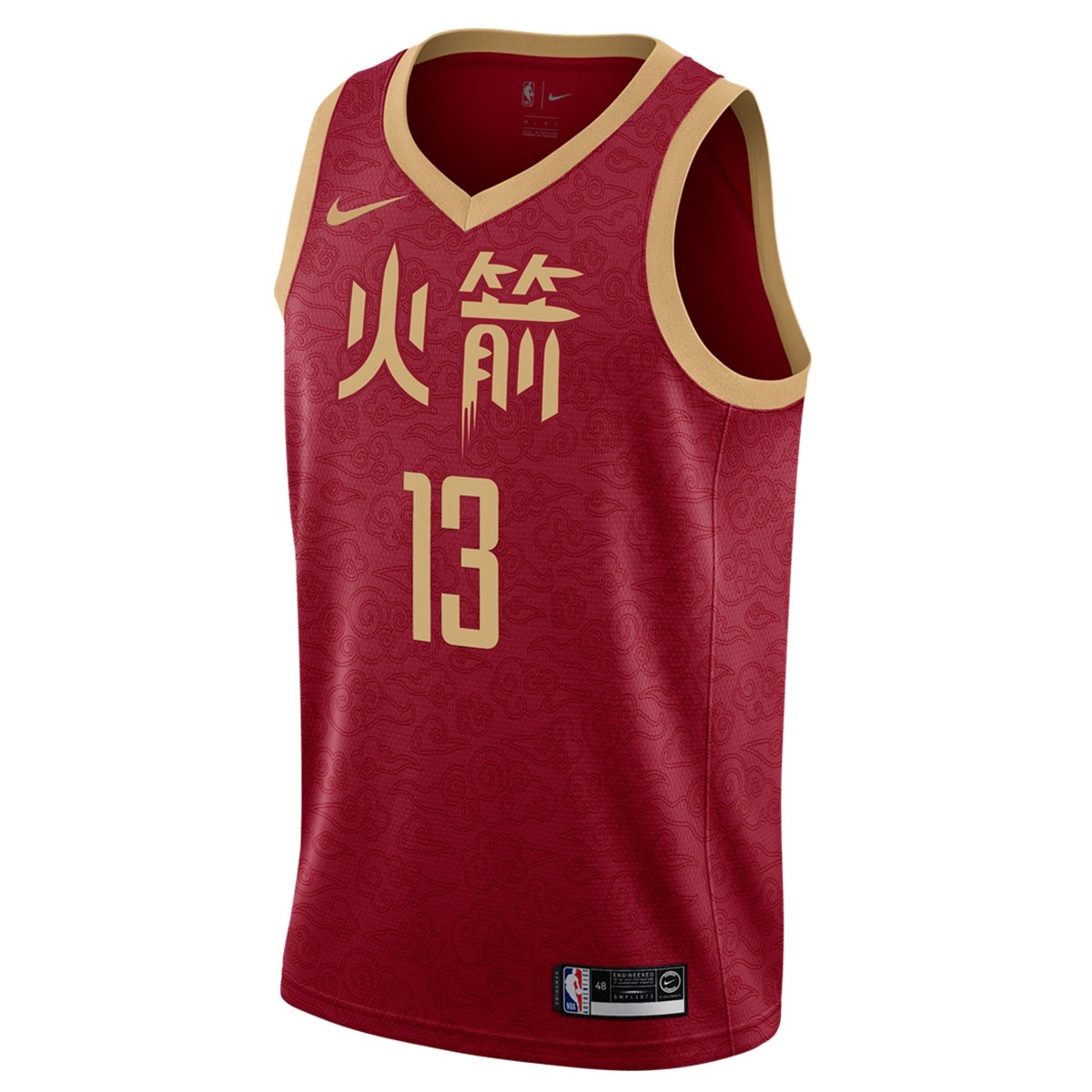 Nike NBA Houston Rockets Swingman Jersey Harden 'City Edition'
