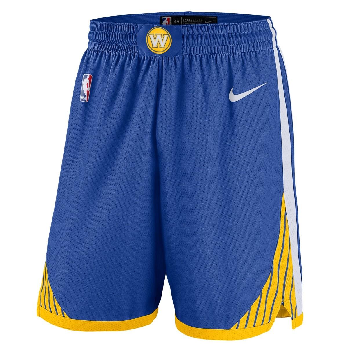 Nike NBA Warriors Swingman Short 18/19 'Icon Edition'