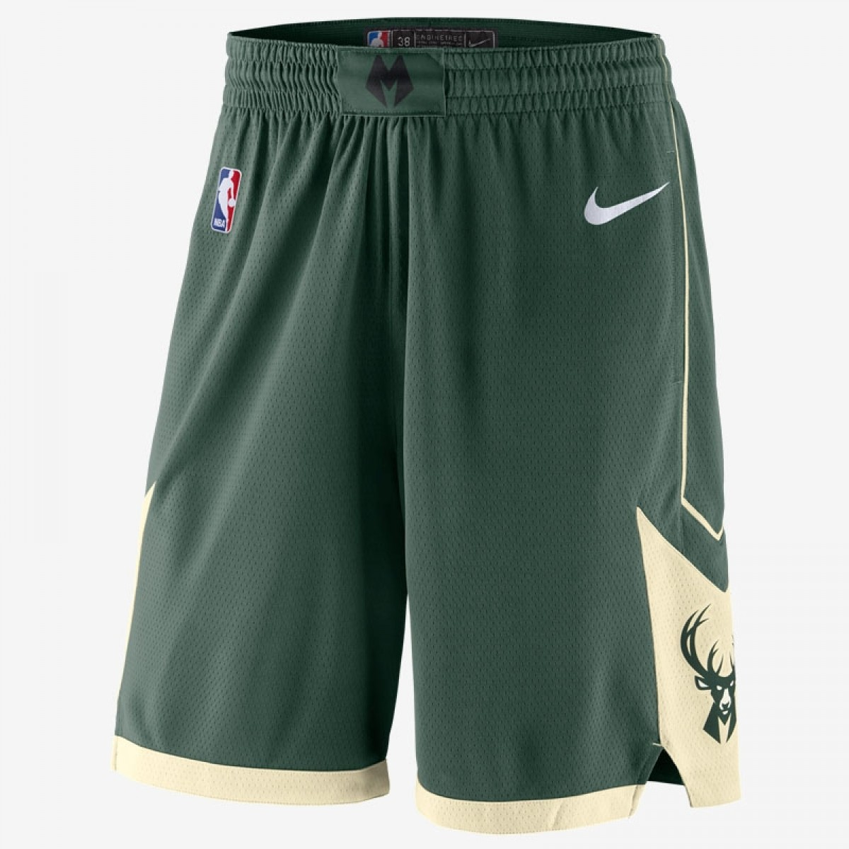 Nike NBA Bucks Swingman Short 'Icon Edition'
