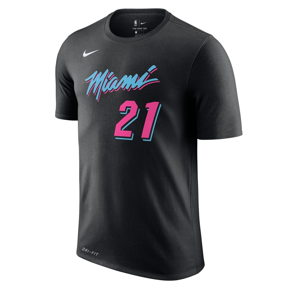 Nike NBA Miami Heat Nick Name Tee Whiteside 'City Edition'