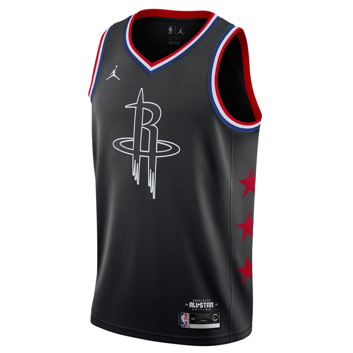 Jordan Swigman Jersey All-Star Harden edition 'Black'