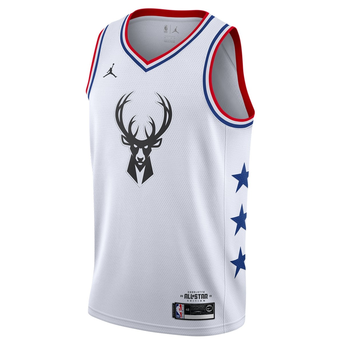 Jordan Swigman Jersey All-Star Antetokounmpo edition 'White'