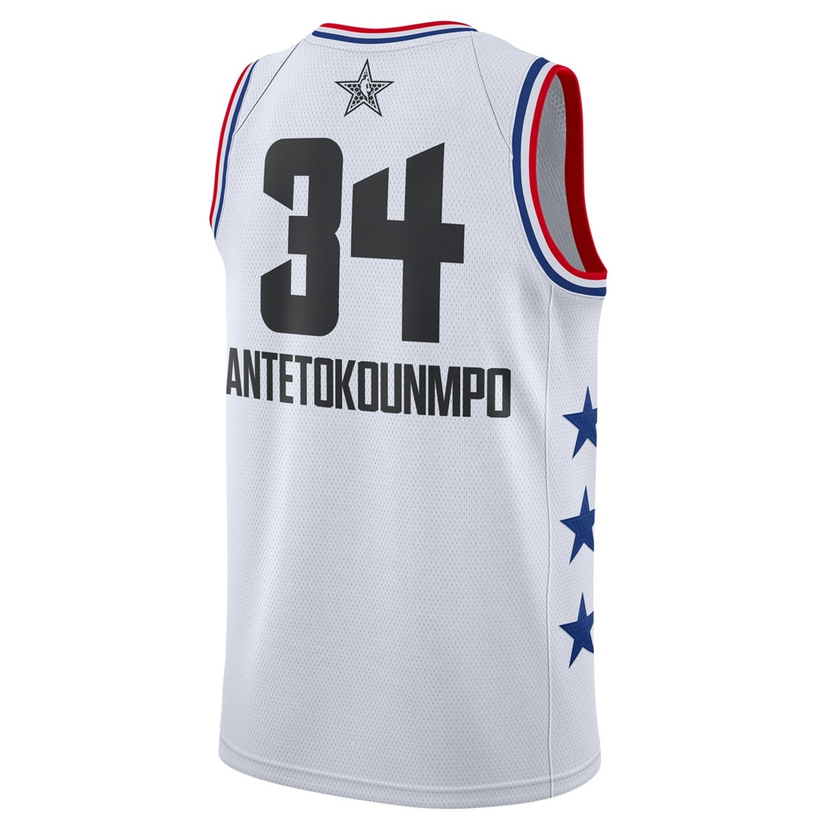 Jordan Swigman Jersey All-Star Antetokounmpo edition 'White' AQ7297-100