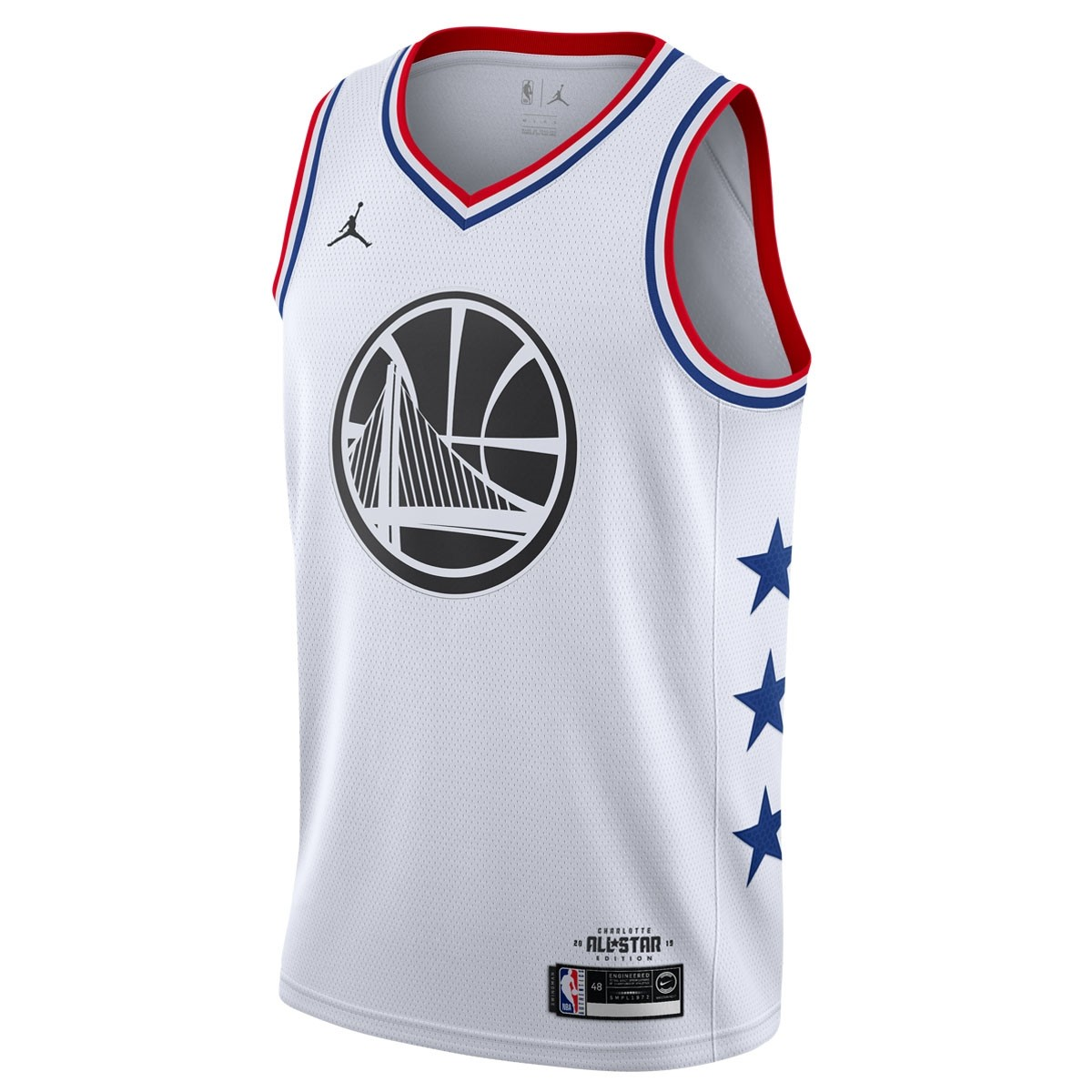 Jordan Swigman Jersey All-Star Curry edition 'White'