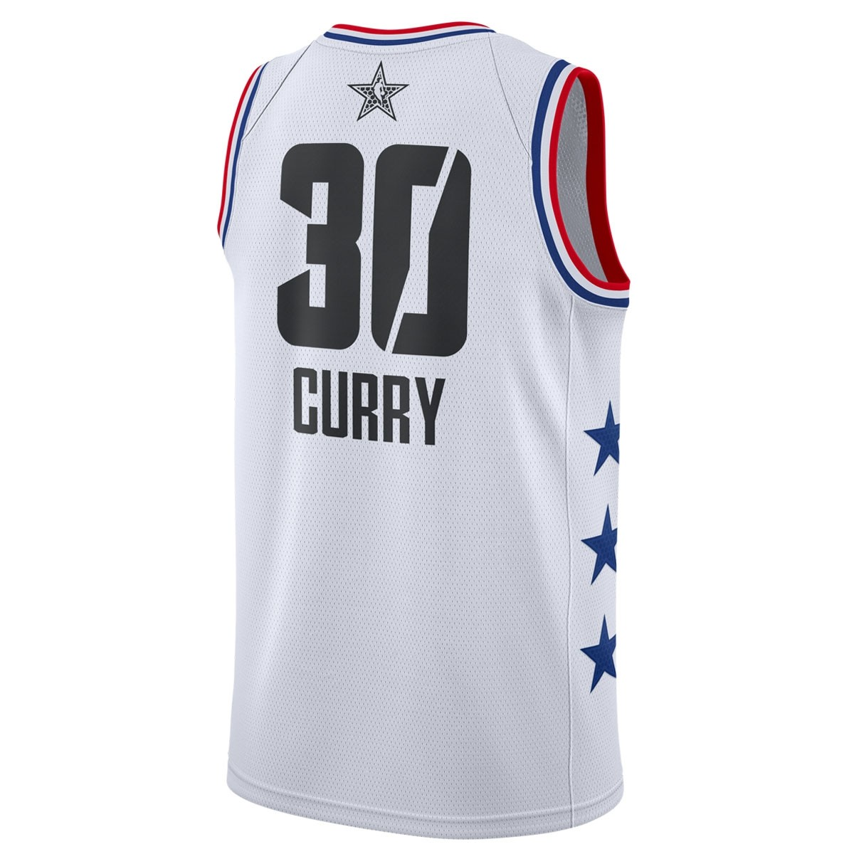 Jordan Swigman Jersey All-Star Curry edition 'White'  AQ7297-101
