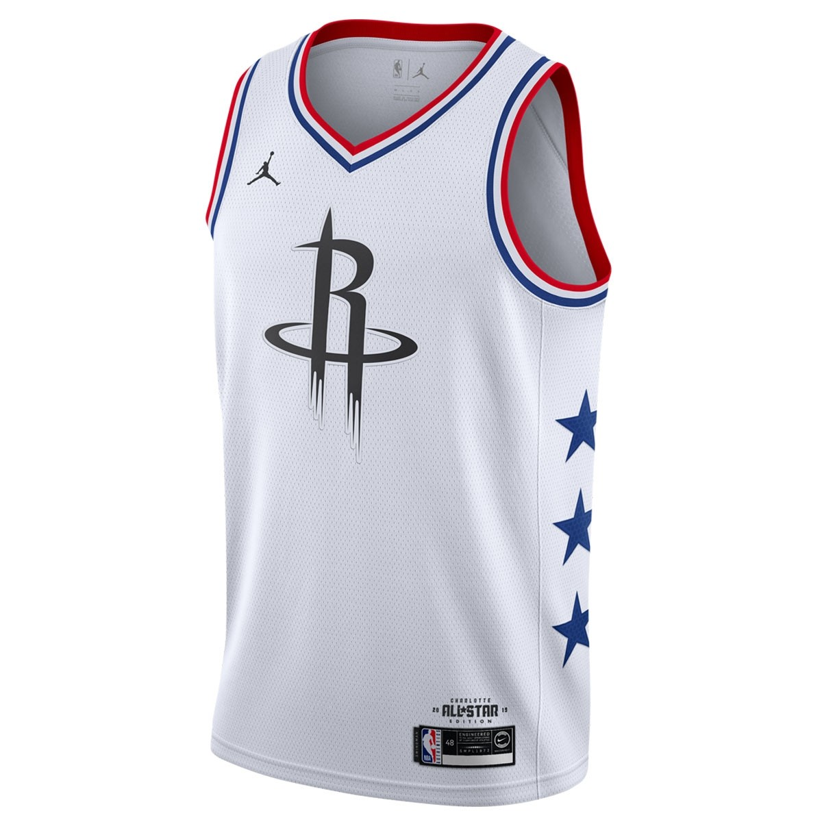 Jordan Swigman Jersey All-Star Harden edition 'White'