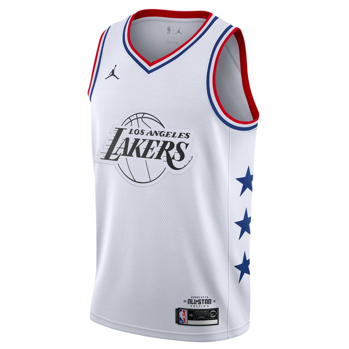 Jordan Swigman Jersey All-Star James edition 'White'