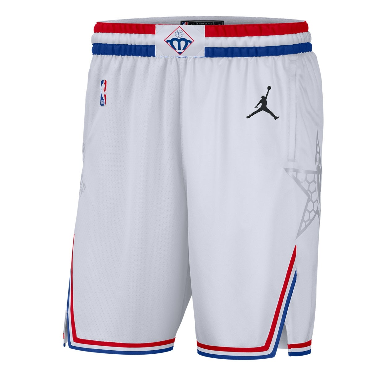 Jordan Swigman Short All-Star edition 'White'