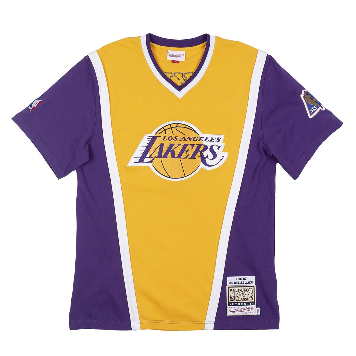 Mitchell & Ness Authentic Shooting Shirt Los Angeles Lakers 1996-97