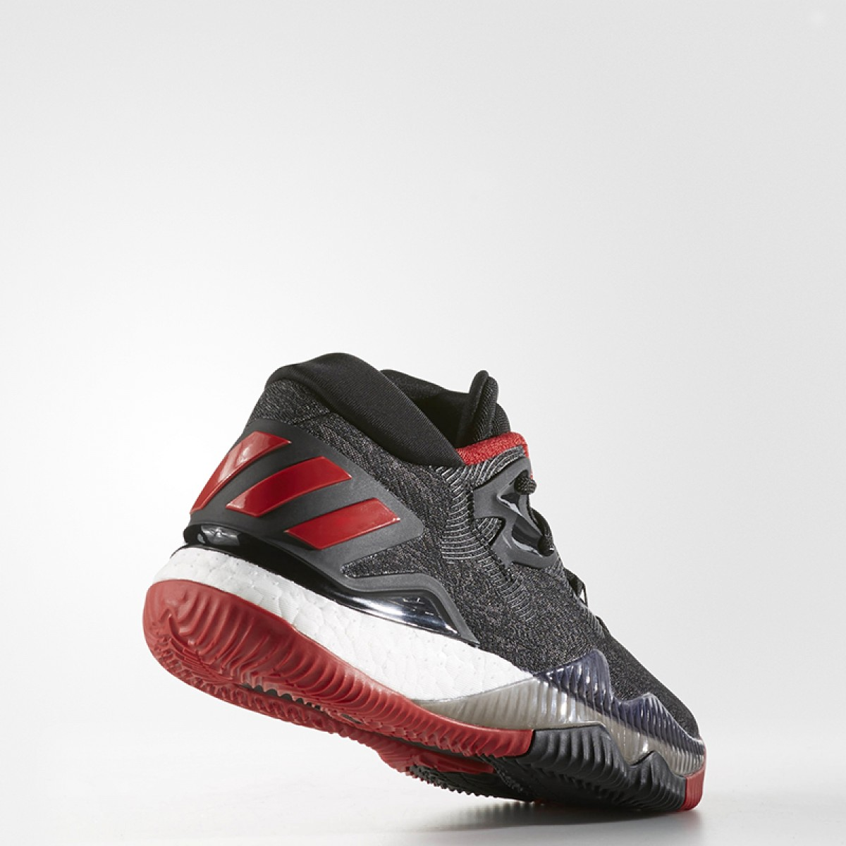 Adidas Crazy Light Boost Low 2016 Jr 'Black Scarlet' B42603