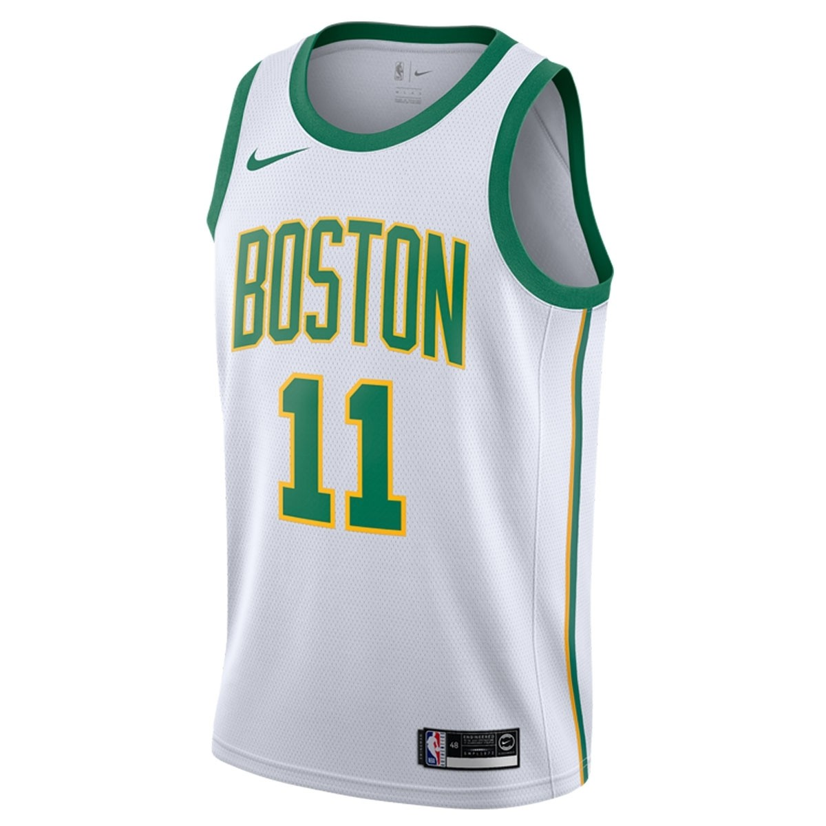 Nike Junior NBA Celtics Swingman Jersey Irving 'City Edition'