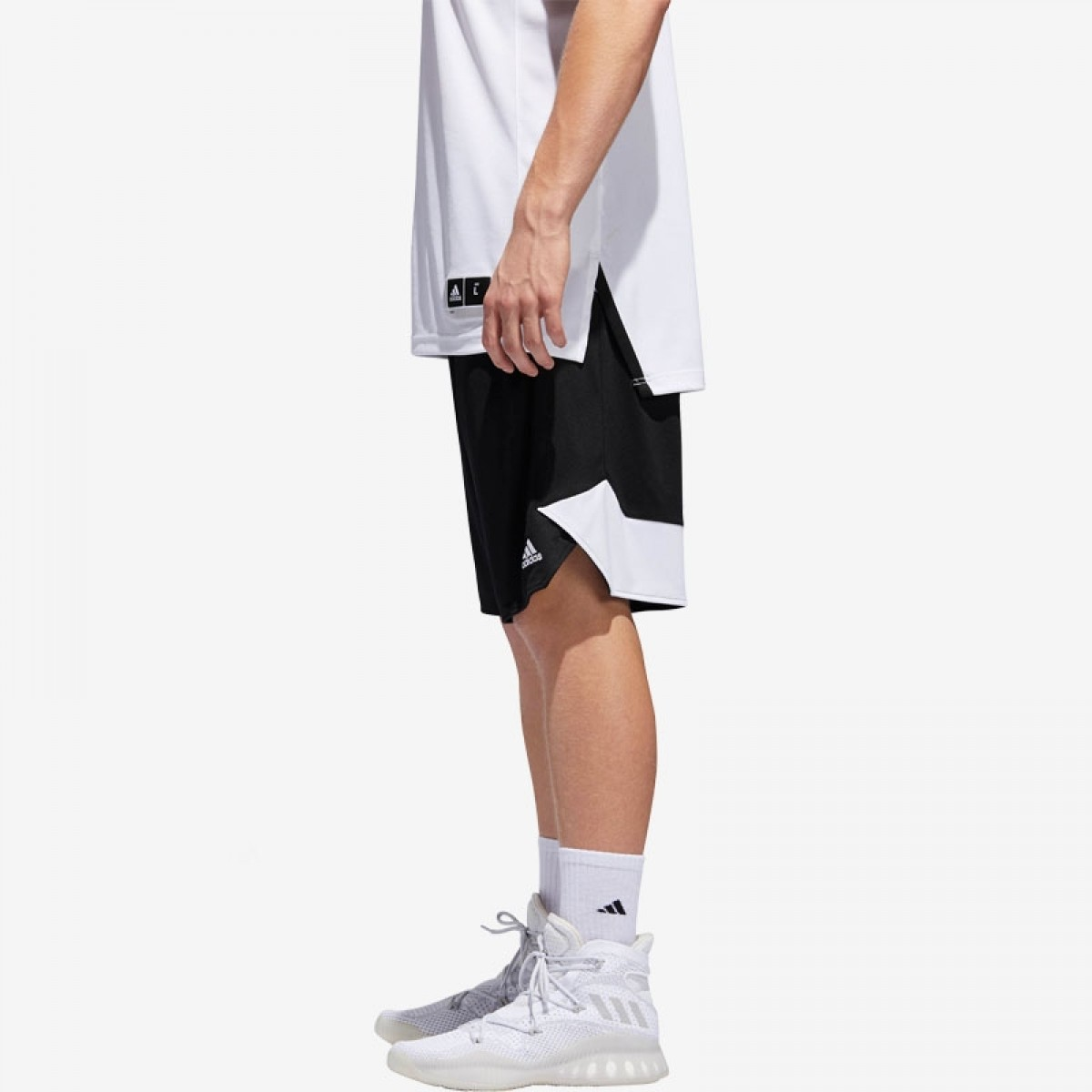 ADIDAS Crazy Explosive Short 'Black/White' BS5016