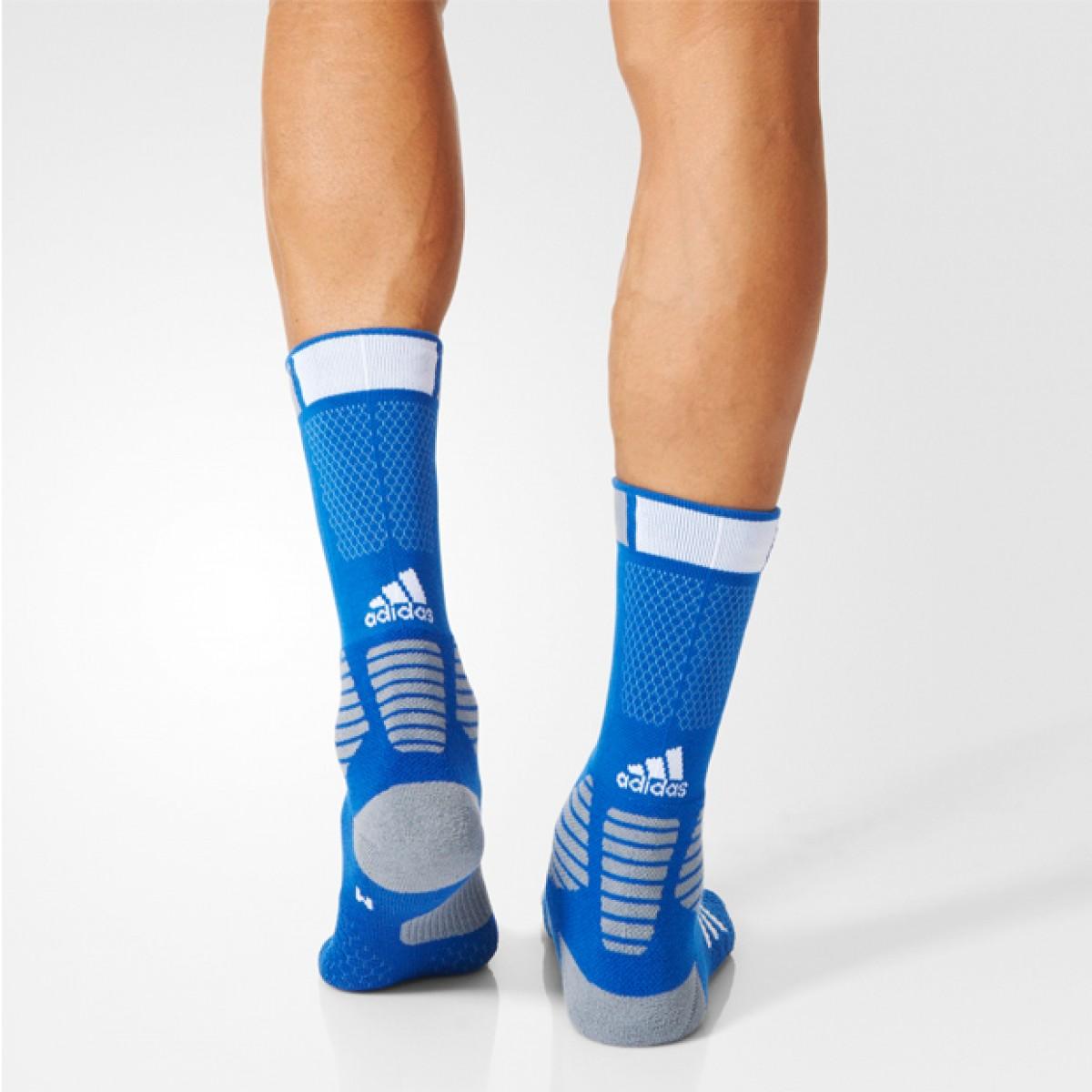 Adidas Crew Socks 'Blue' AO0517