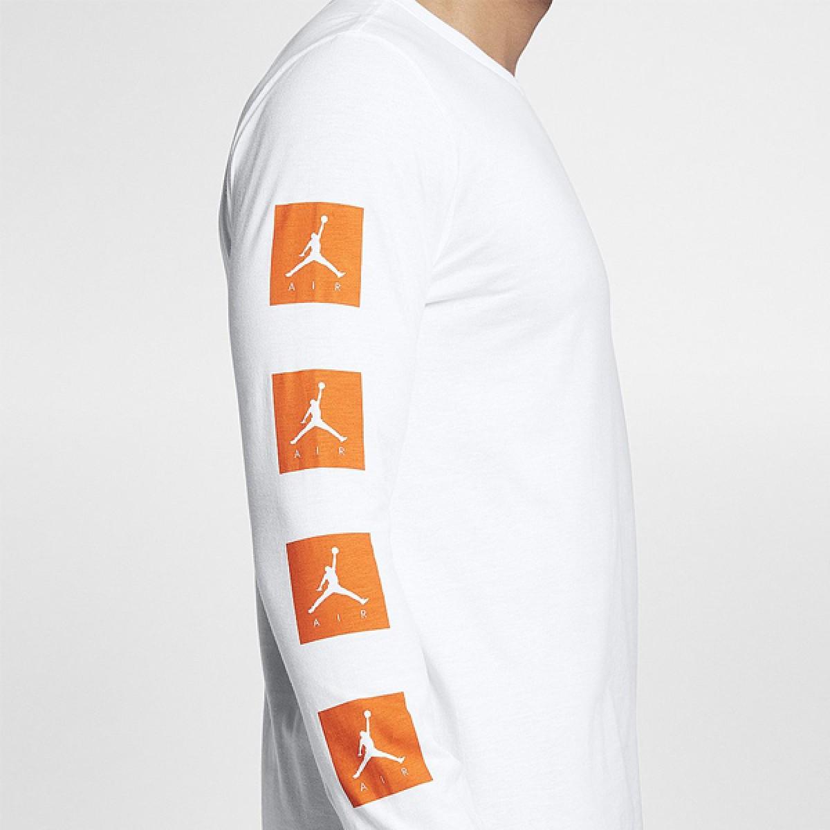 Jordan 'Be Like Mike' Long-Sleeve T-Shirt 'White' AJ1167-100