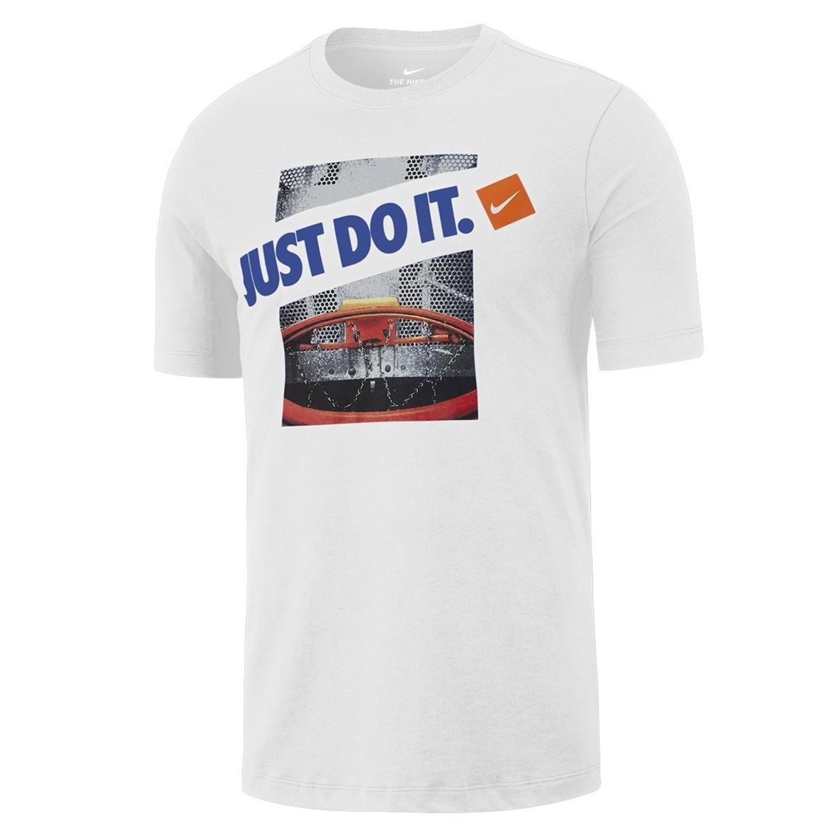 Camiseta Nike Dry Just Do It 'White'