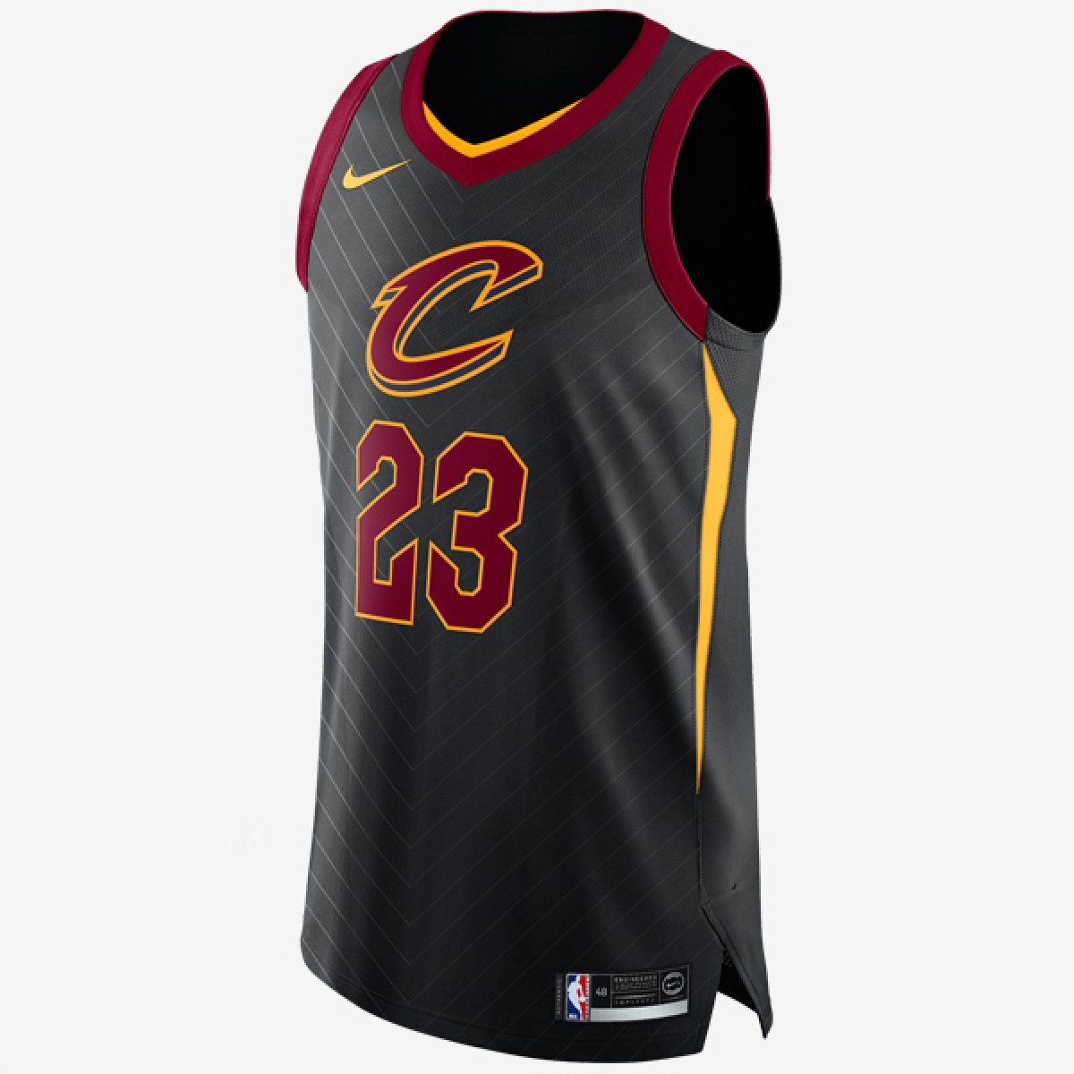 Nike NBA Cavs Authentic Jersey James 'Statement Edition'