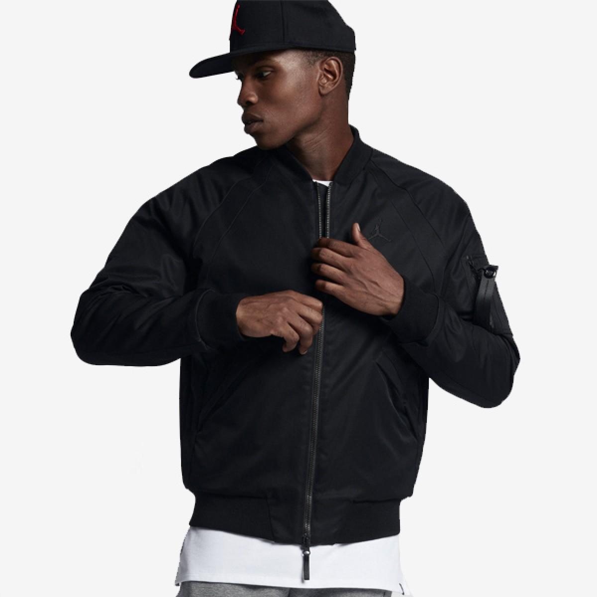 Jordan Wings MA-1 Jacket 'Black'