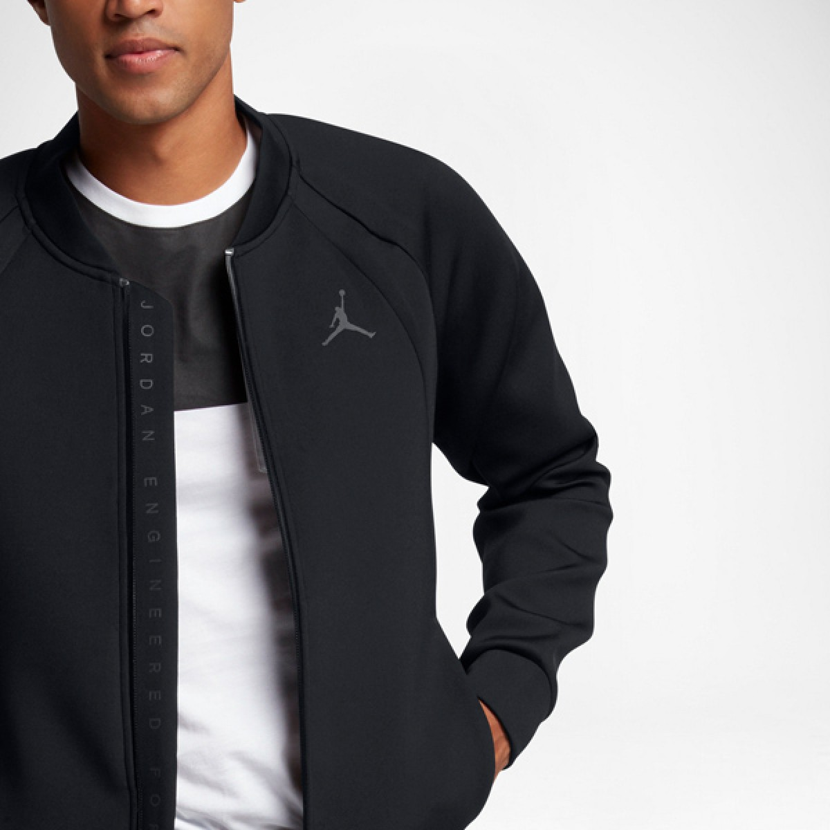 Jordan Flight Tech Jacket 'Black' 887776-010