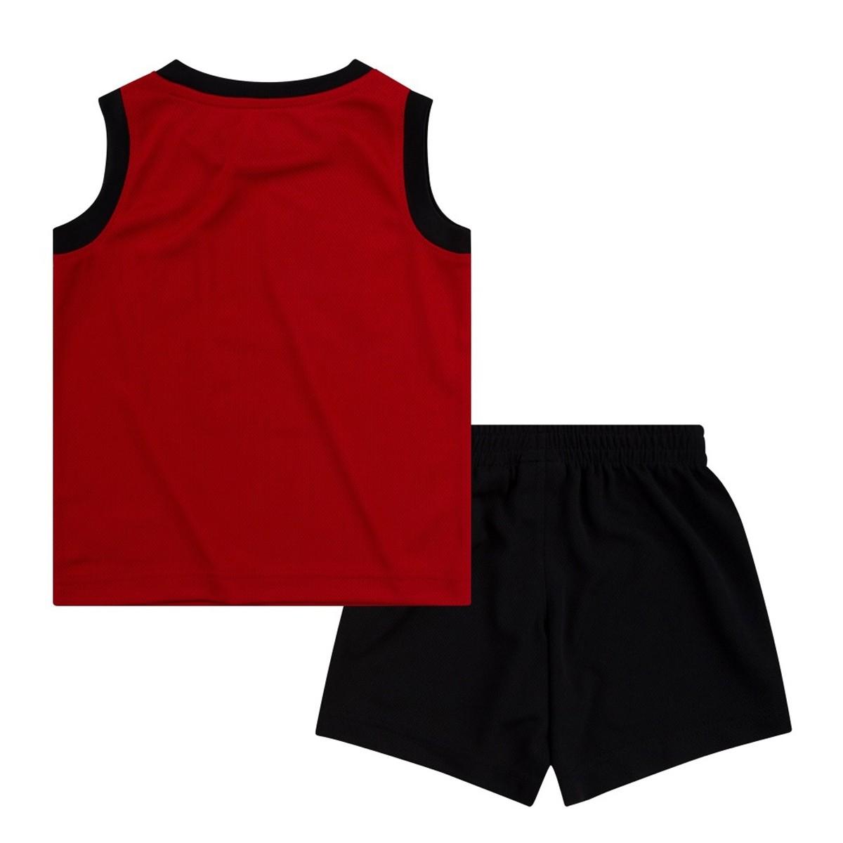 Conjunto Jordan Niño Muscle 'Bred'-857559-023