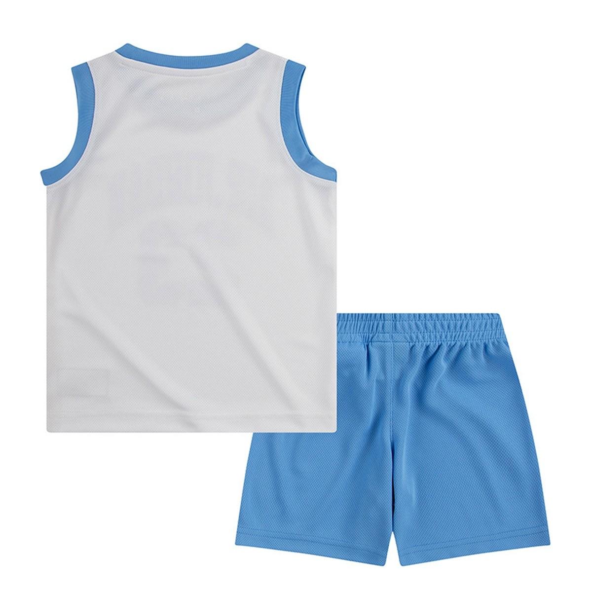 Conjunto Jordan Niño Muscle 'Carolina'-857559-B9F