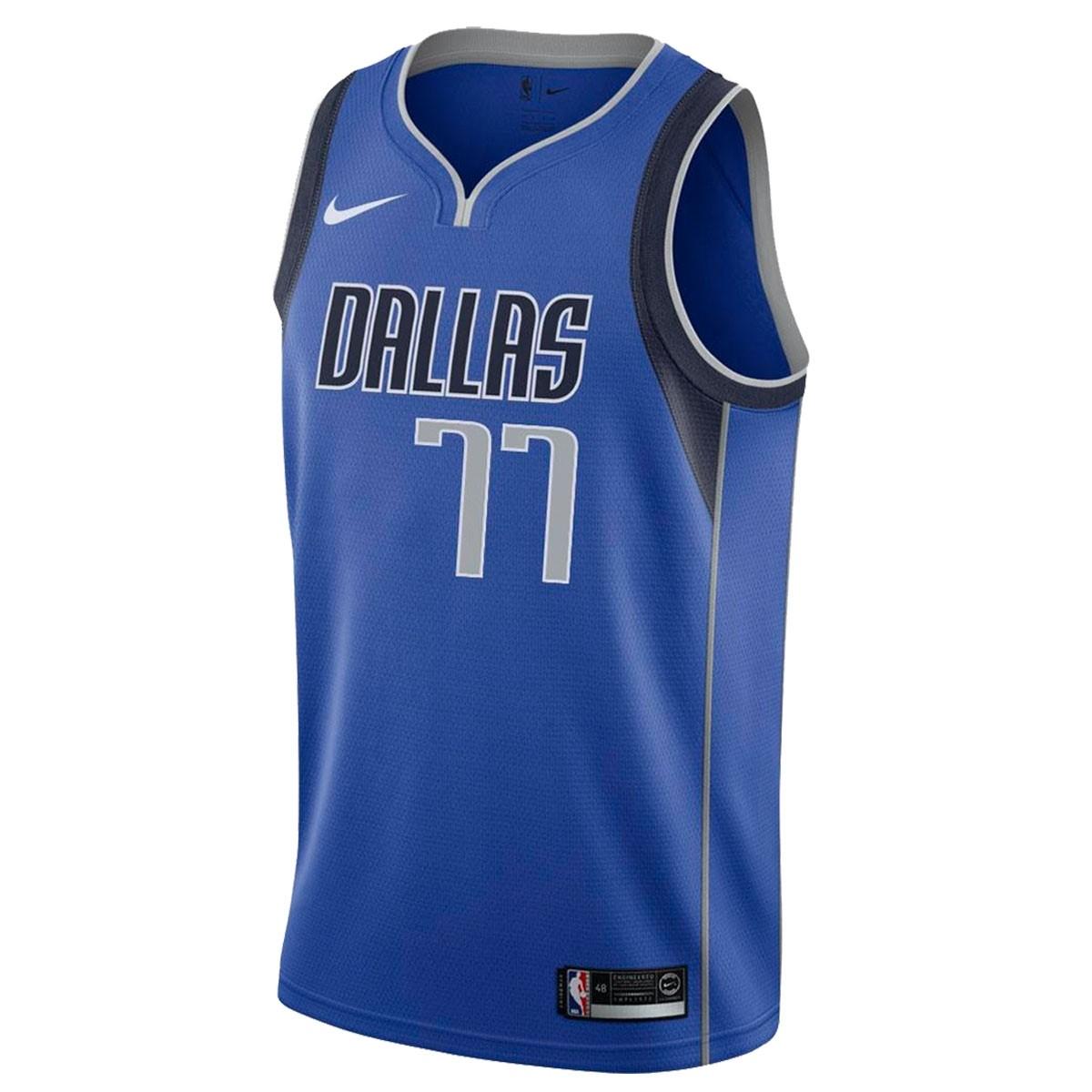 Camiseta Nike Junior NBA Dallas Mavericks Swingman Doncic Jersey 'Icon Edition'