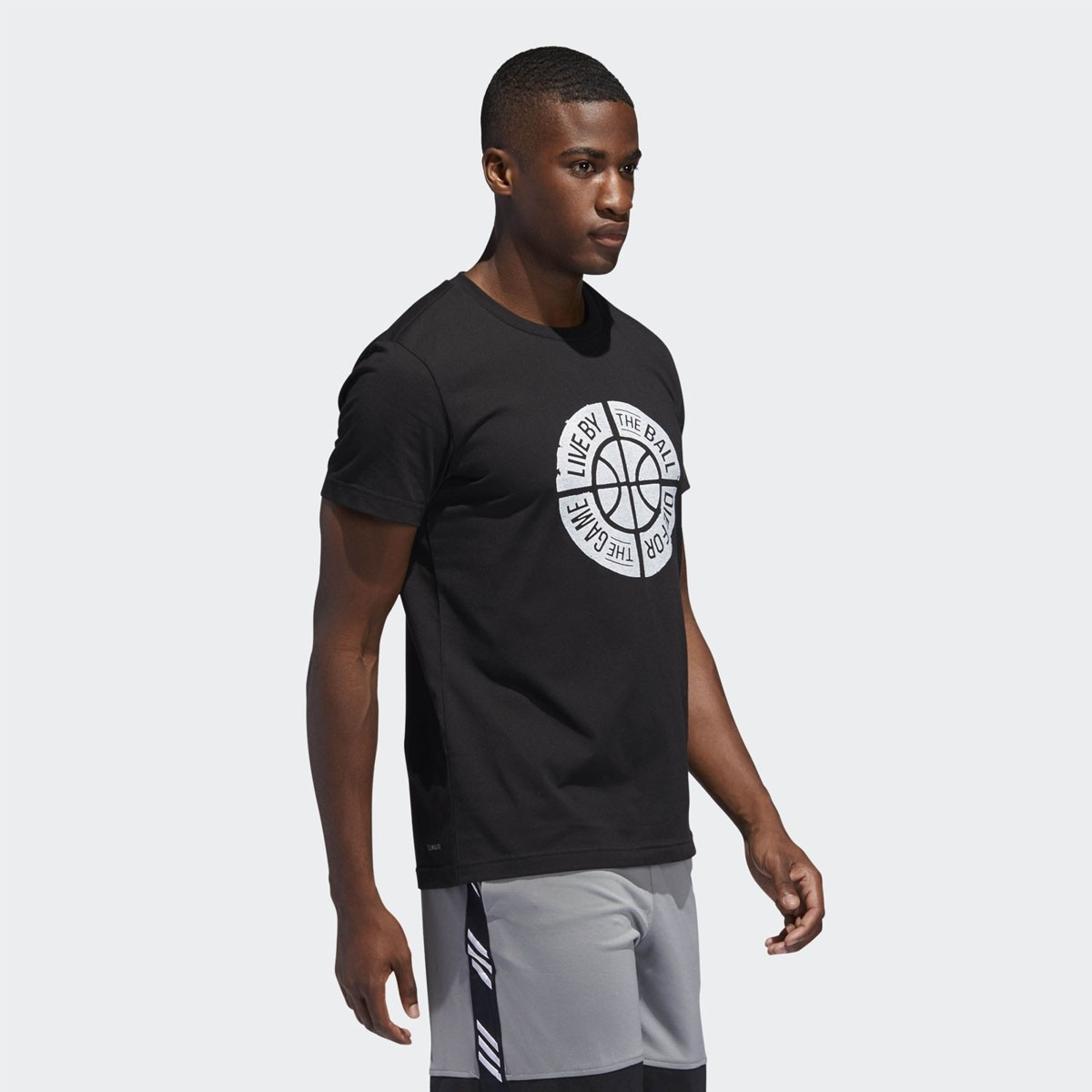 ADIDAS Graphic Tee 'Die for the game' DU6448