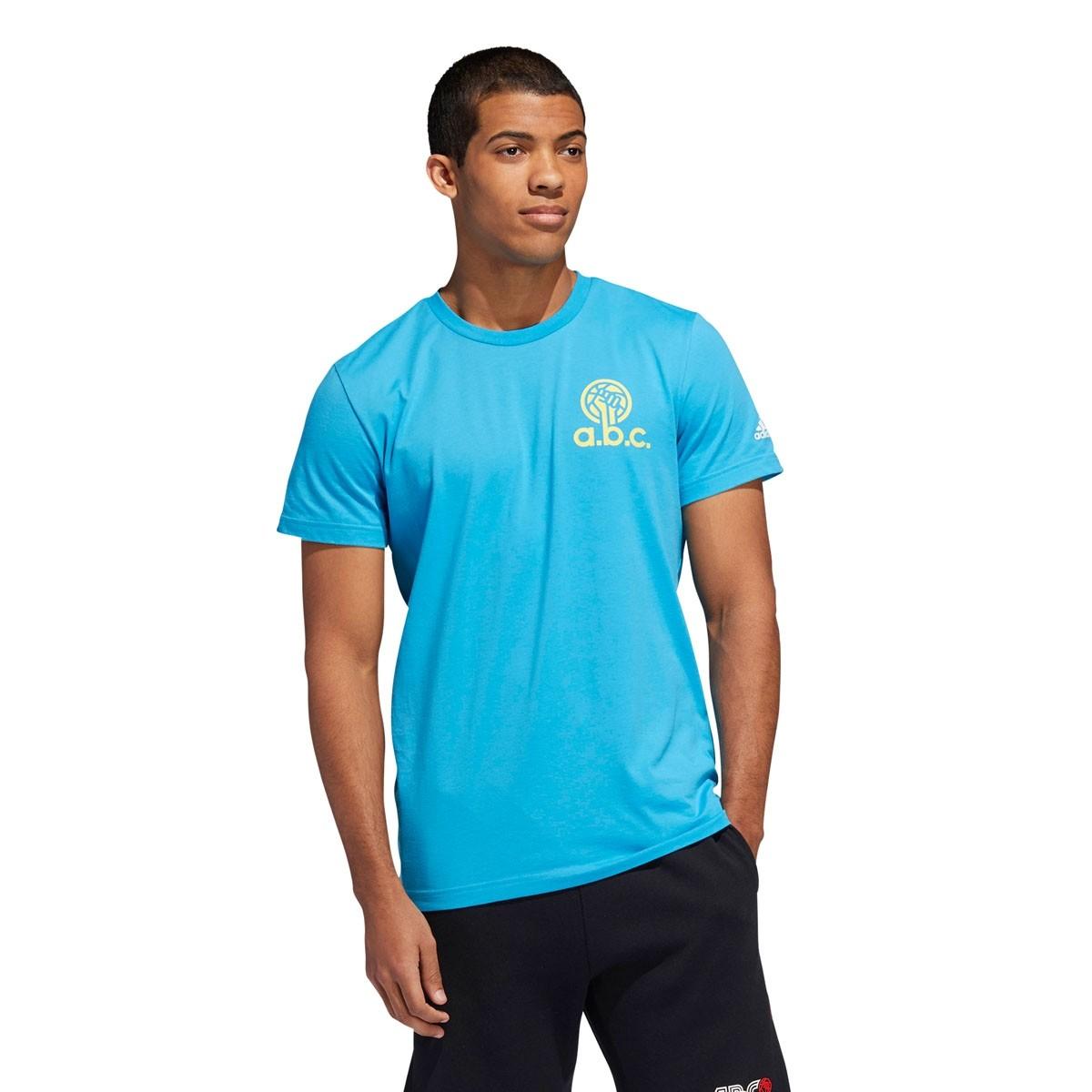 ADIDAS A.B.C T-shirt 'Blue'