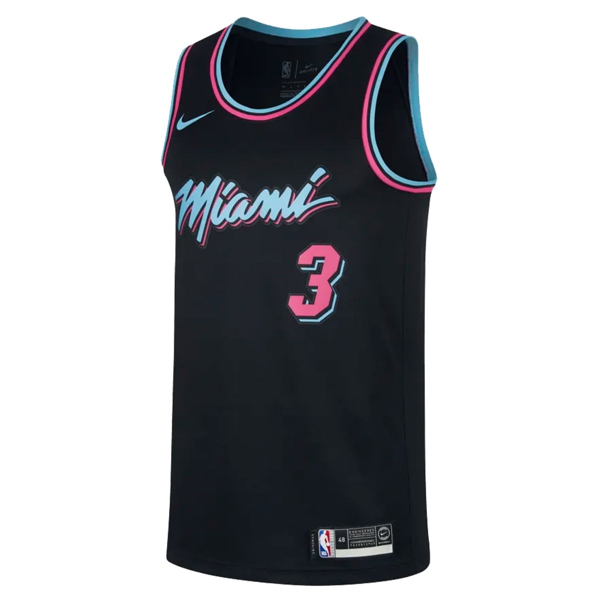 Nike Junior NBA Miami Heat Swingman Jersey Wade 'City Edition'
